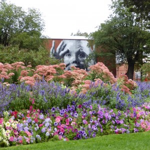 The Mill Mural from Castlemaine Botanic Gardens