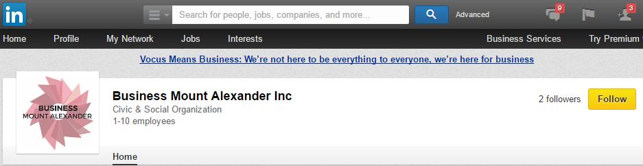 Business Mount Alexander is on LinkedIn