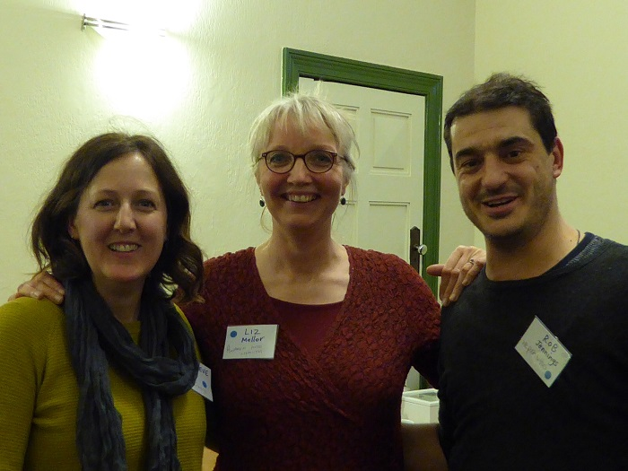 Gen, Liz and Rob at Holgate Networking event