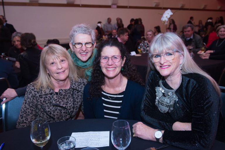 Claire Baker, Genevieve Barlow, Katie Finlay and Margot Spalding.(Photo credit: Brendan McCarthy)