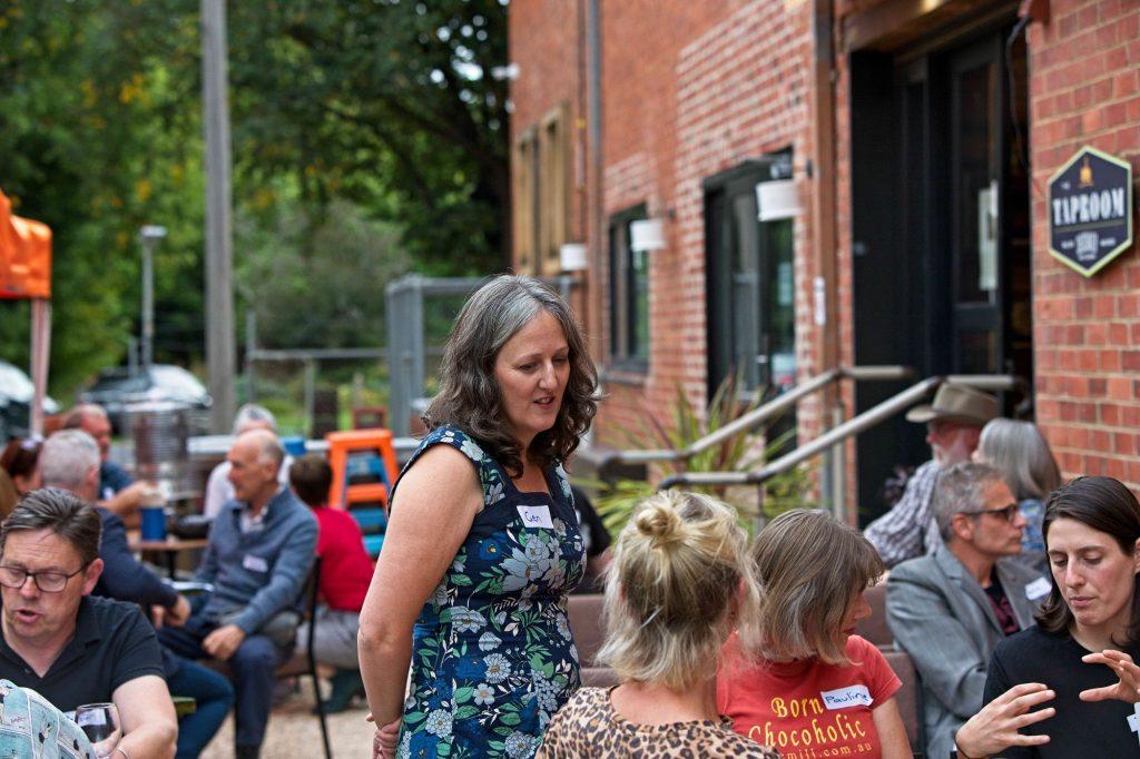 Gen Ward & crowd - Gastronomy & Visitation Event 2021